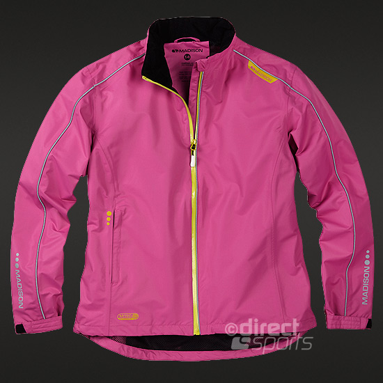 Madison Protec Waterproof Womens Jacket (Very Berry)