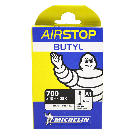 Michelin A1 Airstop 700 x 18-25C Inner Tube (40mm Presta Valve)