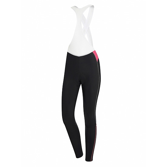 RH+ Zero Womens Bibtight (Black-Magenta)