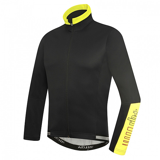 RH+ Zero Mens Jacket (Black-Fluo Yellow)