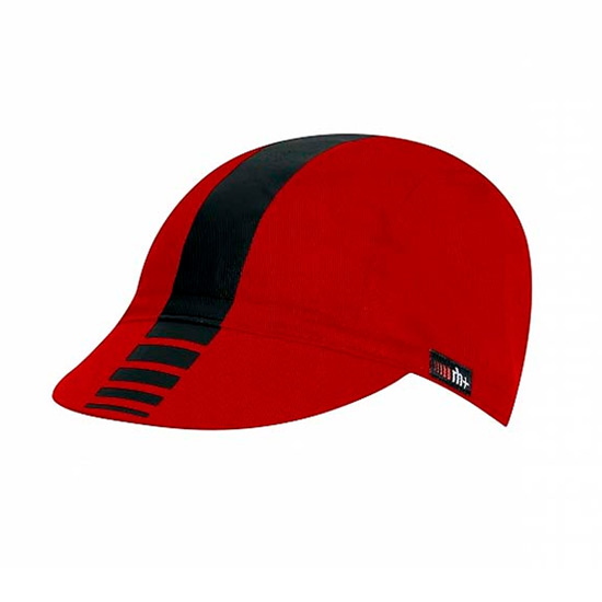 RH+ Zero Cycling Cap (Red-Black)