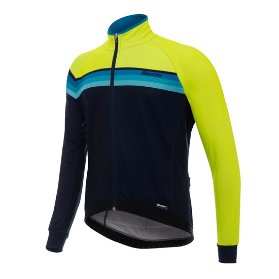 Santini H Way Windstopper Jacket (Yellow)