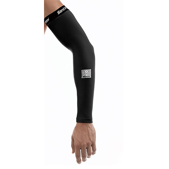 Santini Totem Fleece Arm Warmer (Black)