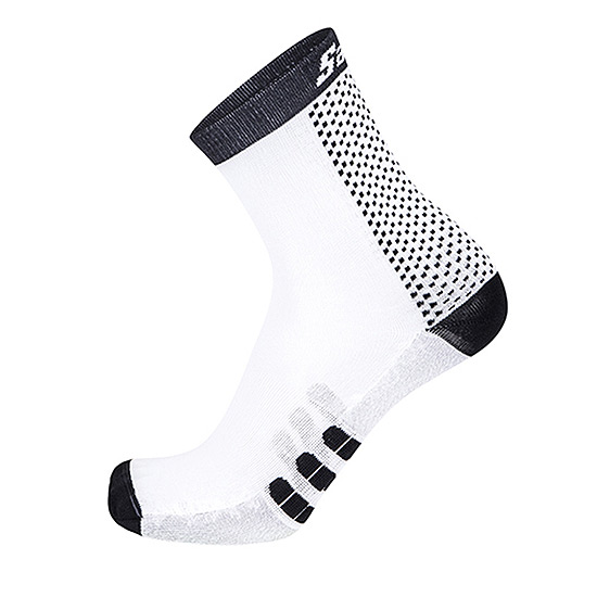 Santini Two Socks (White-Black)
