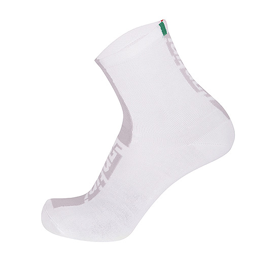 Santini Flag Socks (White)