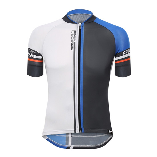 Santini Airform 2.0 Short Sleeve Jersey (Blue)
