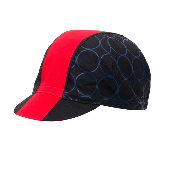 Santini Redux Cotton Cycling Cap (Red)