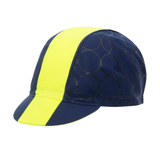 Santini Redux Cotton Cycling Cap (Yellow)