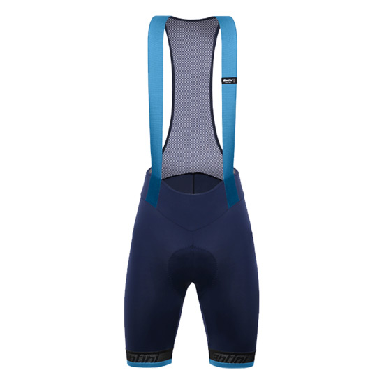 Santini Fase Mens Bib Shorts (Blue)