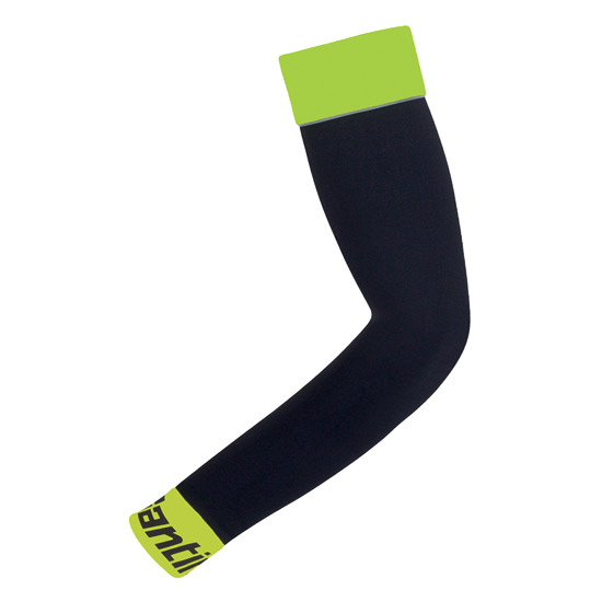 Santini Mid Season Arm Warmers (Yellow)