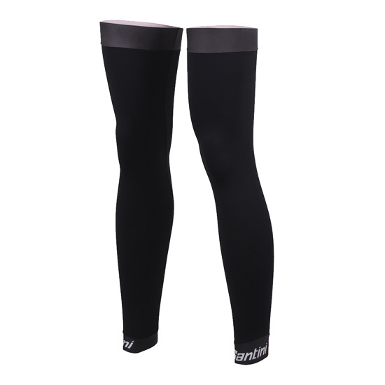 Santini Mid Season Leg Warmers (Black)