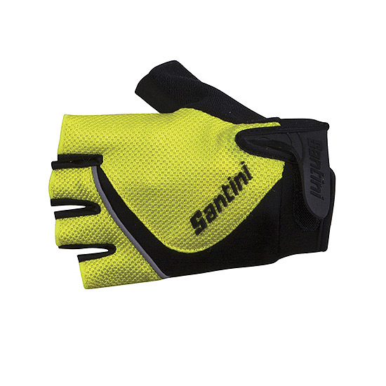 Santini Studio Summer Mitts (Yellow-Black)