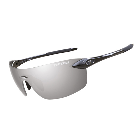 Tifosi Vogel Frameless Glasses (Black-Smoke)
