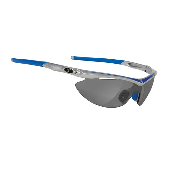 Tifosi Slip Glasses (Steel-Clarion Blue)