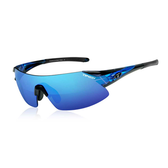 Tifosi Podium XC Glasses (Crystal Blue-Clarion Blue)