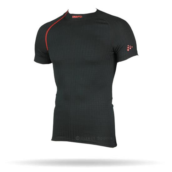 Craft Zero Extreme Mens SS Top (Black) Base Layer