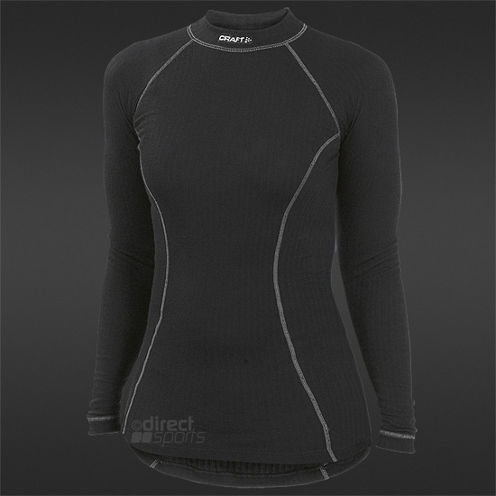 Craft Zero Full Crewneck Womens LS Top (Black)