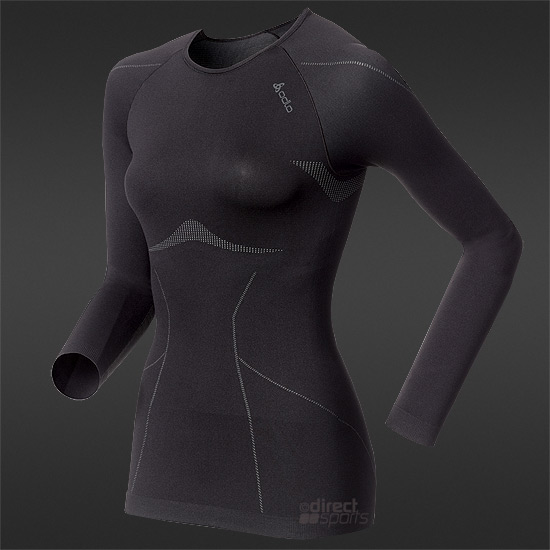 Odlo Evolution Womens LS Shirt (Black)