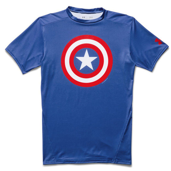 Under Armour Alter Ego Captain America Compression Top