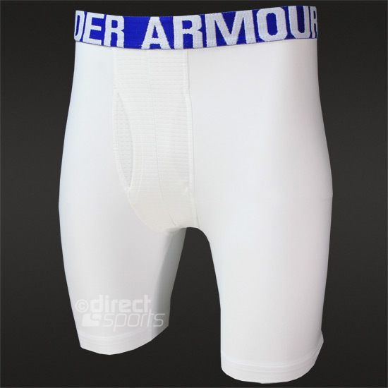 Under Armour Cold Gear Evo Compression Mens Short (White)