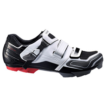 Shimano XC51 SPD Mens Shoes (White-Black)